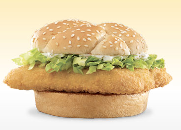 Fast food fish for lent fish sandwiches offered at fast for Jack in the box fish