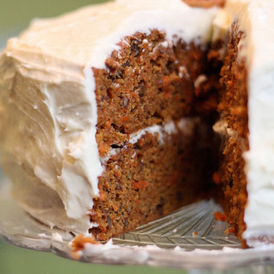 Recipe to make carrot cake