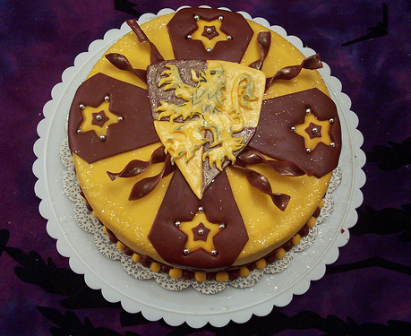 Harry Potter House Cake