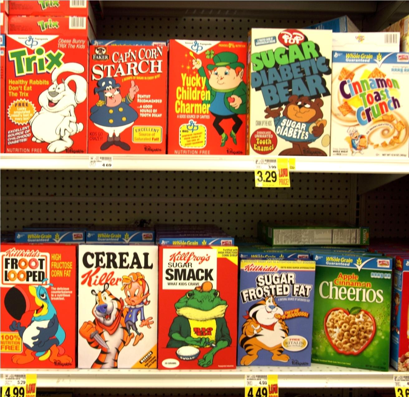 Kiri Tannenbaum: Ron English Cereal Art