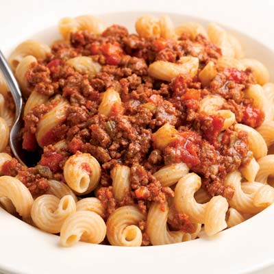 Red meat sauce pasta recipes