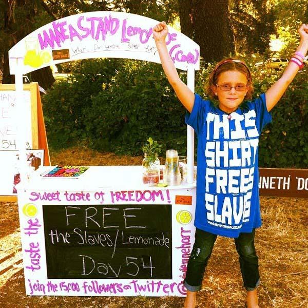 Kiri Tannenbaum: California Lemonade Stand Earns More Than $30,000