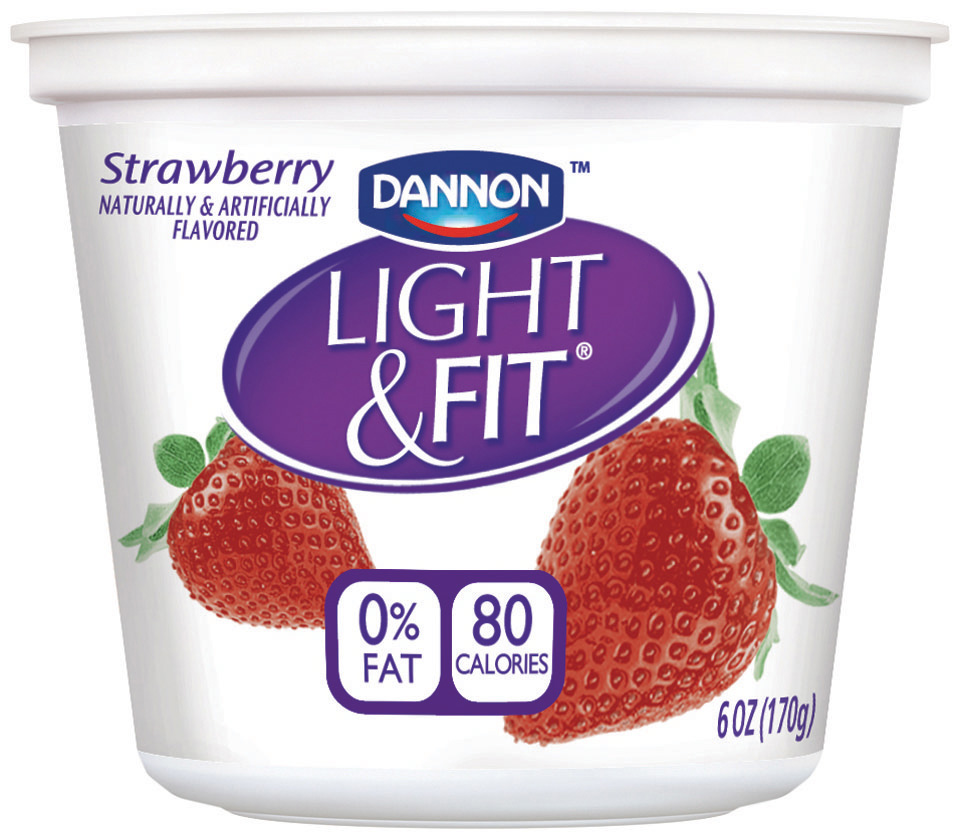 Light And Fit Yogurt Nutrition Facts Dannon Light And Fit Yogurt