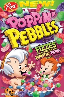 Poppin Pebbles Cereal Fizzy Fruity Pebbles