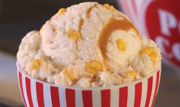 Caramel Popcorn Ice Cream - Baskin-Robbins Flavor
