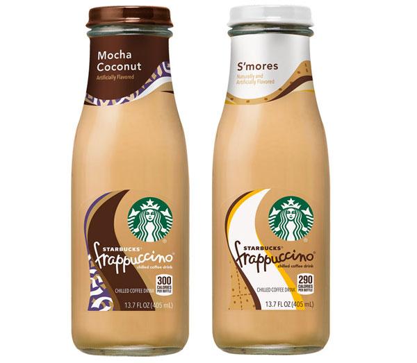 Starbucks mocha bottle bottled smores frappuccino starbucks