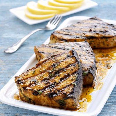 How to Grill Fish - Grilling Fish on a Gas Grill