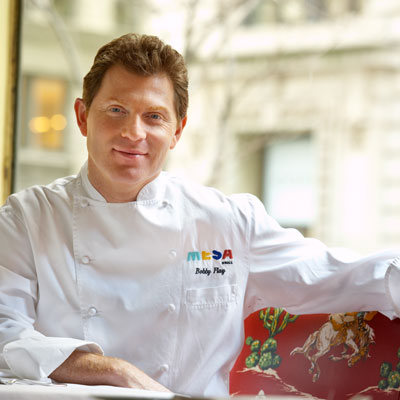 bobby flay career Bobby flay, one of the country's most celebrated chefs, restaurateurs, cookbook authors and media personalities, has enjoyed an ambitious culinary career, with an influence that can be felt throughout the industry.