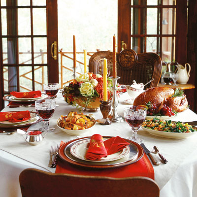 Serving a sumptuous Thanksgiving feast can be an exciting prospect,  especially when the entertaining is
