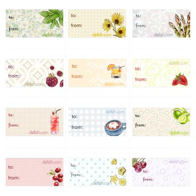 Printable gift tags holiday gift tags homemade holiday gift tags negle Choice Image