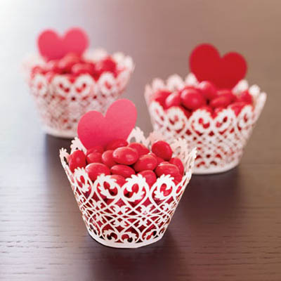 Use Delicate Laser Cut Filigree Cupcake Wrappers ($13 For 12,  Paperorchid.com