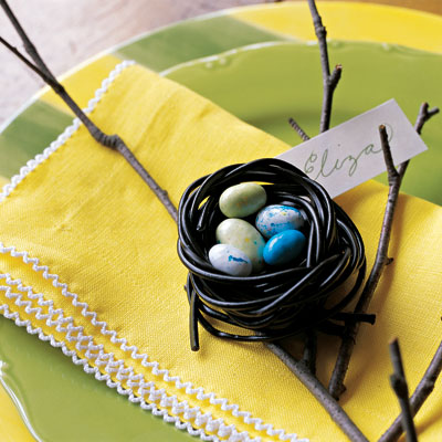 Easter Decorations and Crafts Easter Table Decorations – Easter Place Card Holders