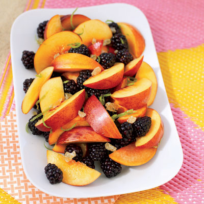 Summer Fruits Need Little Adornment Our Tasty Berry Salad Gets A Boost From Crystallized