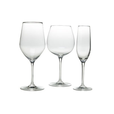 Know some first-time home owners who are building a kitchen collection? Stock their shelves with this beautiful stemware set, available in Champagne flute, Chardonnay glass, and Pinot Noir glass, and Merlot glass styles. It's sure to help them serve wine to friends in style. (Target.com, $49.99 for a set of 4)
