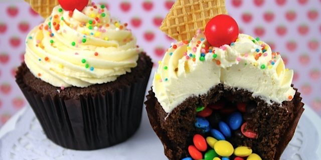 Make A Birthday Extra Special With This Cupcake Which Is Gift In It Self