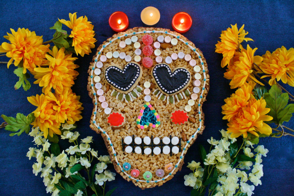 this mega cereal and marshmallow treat is really a work of art get - Day Of The Dead Halloween Decorations