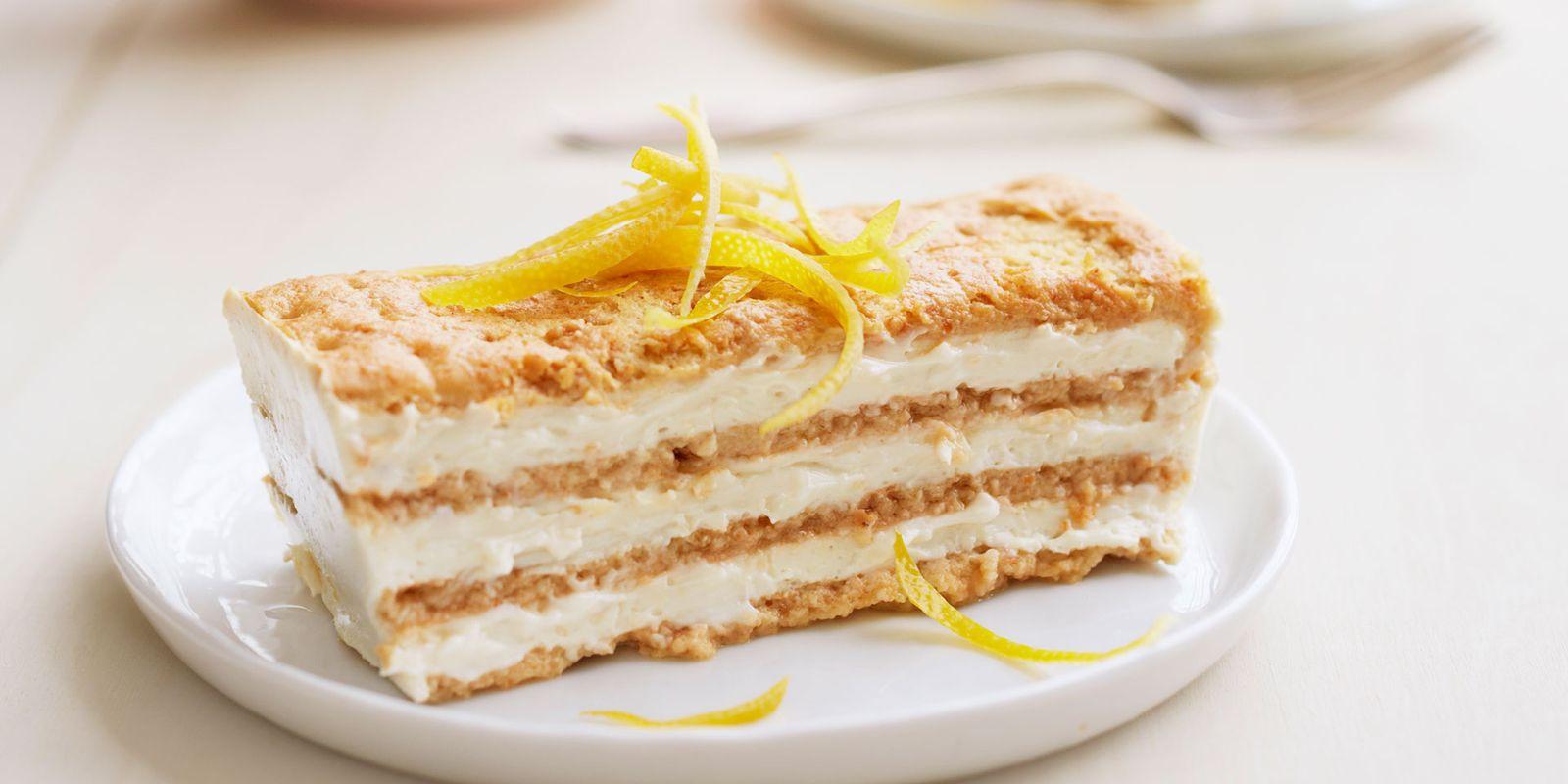 Lemon Cake Recipes Using Box Mix: Lemon Maple Icebox Cake Recipe