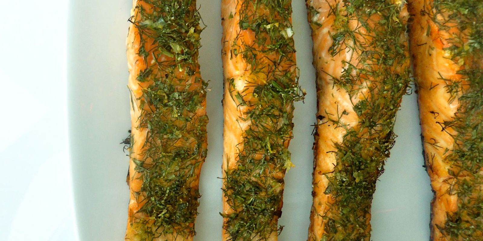 Herb Rub Salmon Recipe