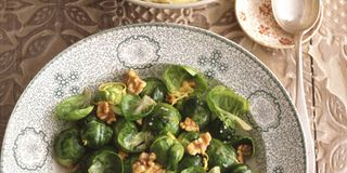 Contributed by Ruth Estfon of Palm Harbor, Florida, this salmon and spinach meal will be on the table in 10 minutes flat. Recipe: Brussels Sprouts with Lemon and Walnuts
