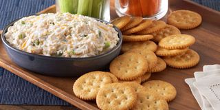 Best Beer Cheese Dip with Pretzel Ring RecipeDelish.com