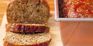 Covering cooked meatloaf with chili sauce, then returning it to the oven produces a slightly sweet, mildly spicy glaze on top. This recipe makes two loaves. Freeze one for later.Recipe: Meatloaf with Chili Sauce