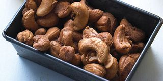 It's a bright idea to add citrus to classic party nuts.Recipe: Chile-Lime Cashews