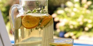 Serve a refreshing white wine sangria with your summer Greek feast. Apricot nectar sets this punch apart from traditional sangria.Get the recipe!