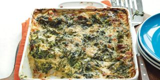 Creamy Spinach and Broccoli Lasagna Recipe