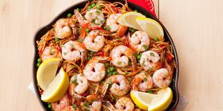 Vegetable Noodles With Shrimp - The Woks of Life