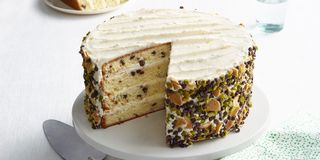 This four layer cake is unique and maintains the traditional cannoli flavor. Recipe: Cannoli Cake