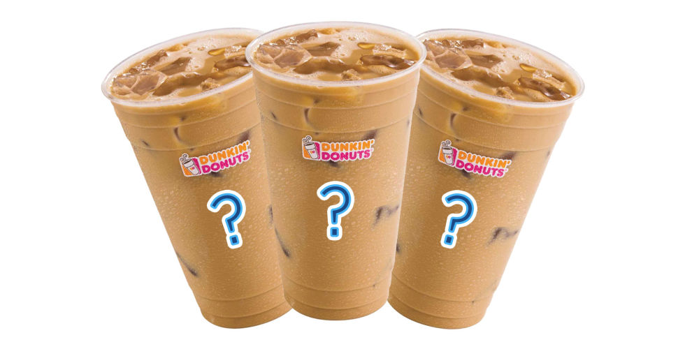 Dunkin Donuts Blueberry Iced Coffee Nutrition Facts ...