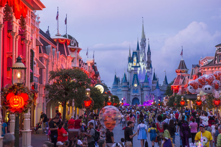 Image result for disney world halloween