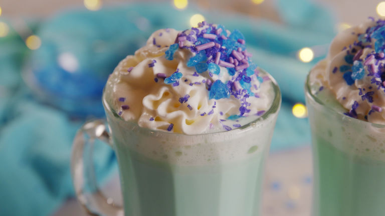 Elsa Hot Chocolate