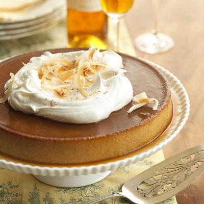 thanksgiving, dessert, pumpkin creme caramel