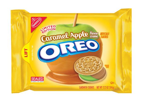 Nabisco Oreo Limited Edition Caramel Apple