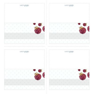 Christmas Table Place Cards Template Free Printable Christmas - Card template free: escort card template